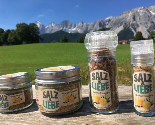 Salz und Liebe Bergsalz mit Orange - Perusalbei