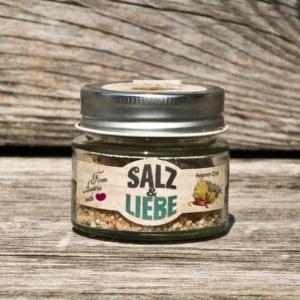 Salz und Liebe - Ananas - Chilli - Salz - grobes Grillsalz