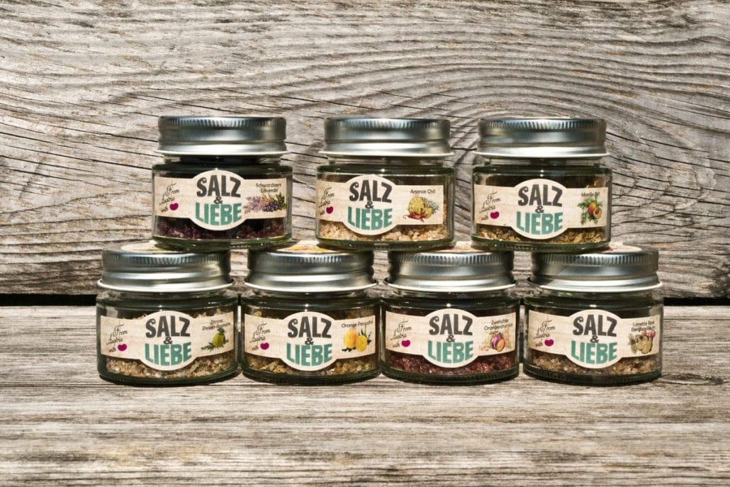 Salz und Liebe - grobes Kräuter und Grillsalz