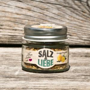 Salz und Liebe - Grillsalz Orange - Perusalbei