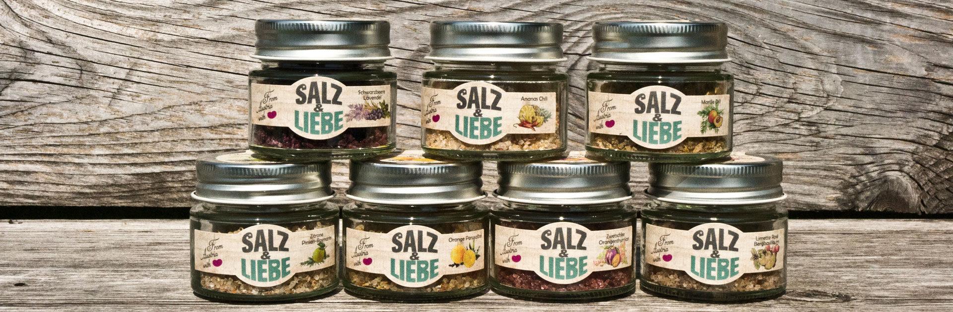 Salz und Liebe - Bergsalz mit Früchten und Kräutern in Bio Qualität