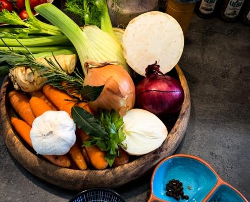 Zutaten Gemüsebrühe